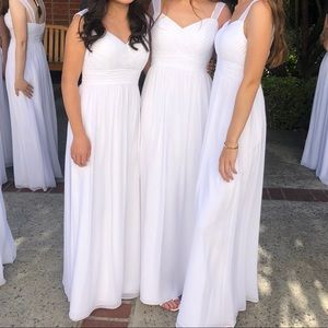 Beautiful Graduation Wedding Dress Gather & Gown